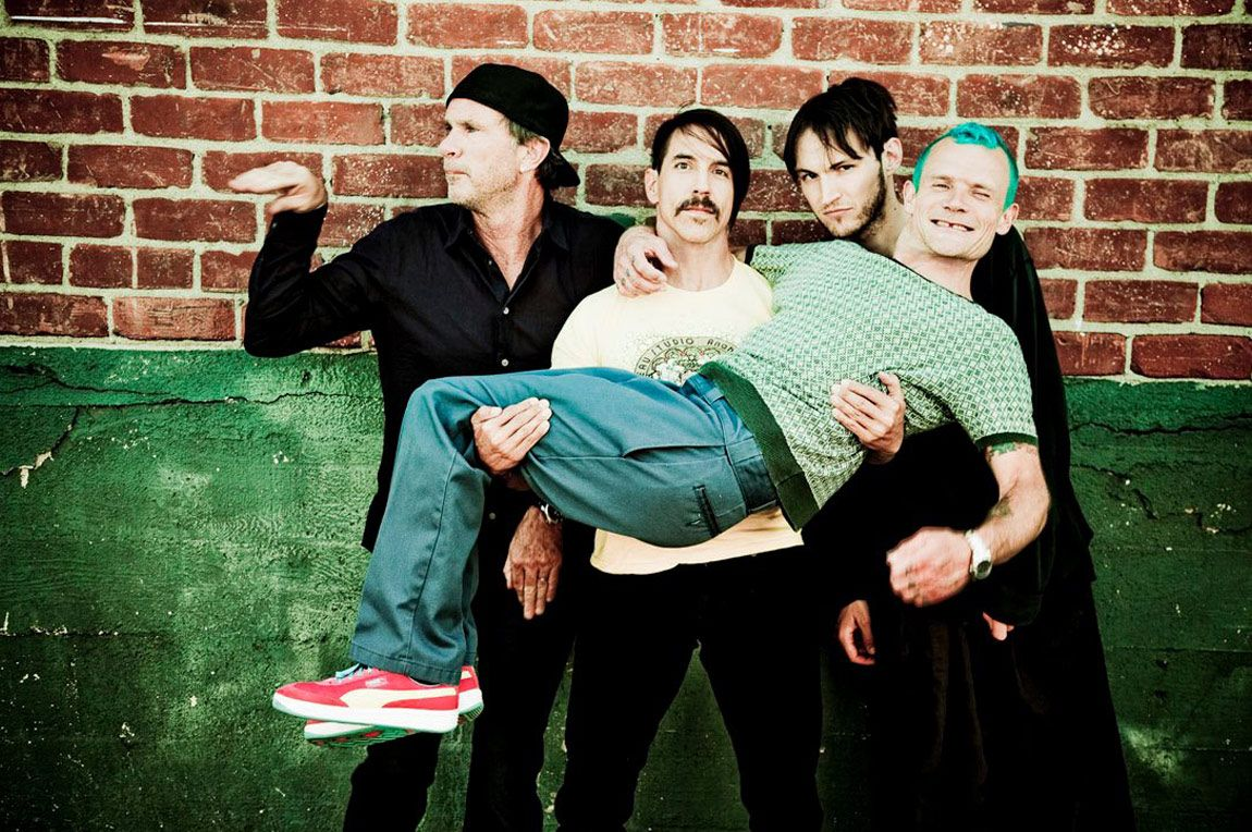 Red Hot Chili Peppers en España