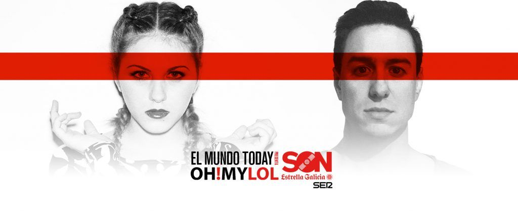 Pianet y Lucía Scansetti en Oh! My LOL SON EG
