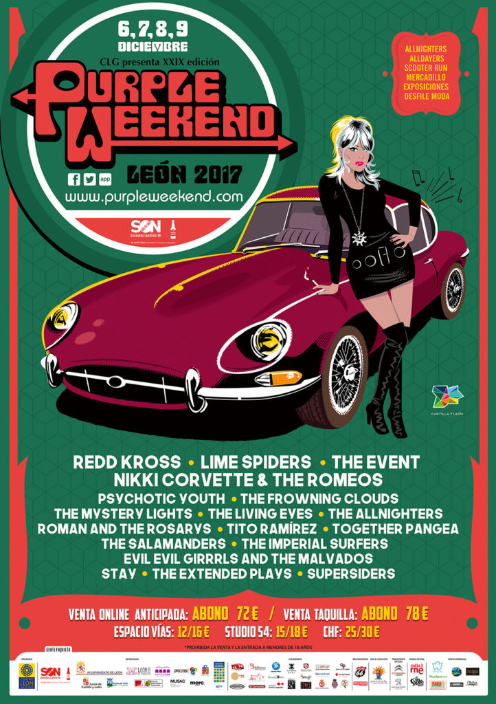 Cartel Purple Weekend