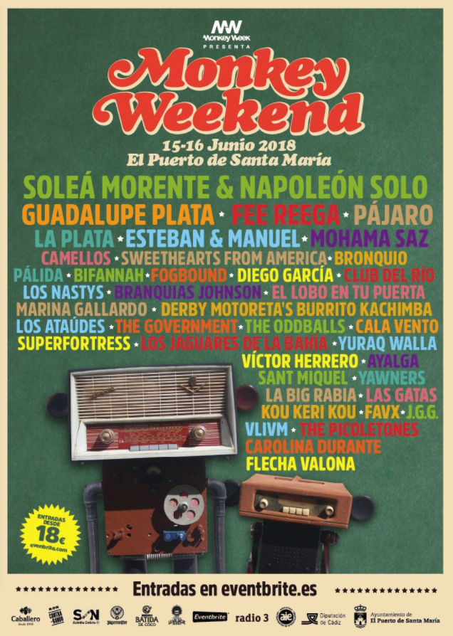 Cartel Monkey Weekend 2018