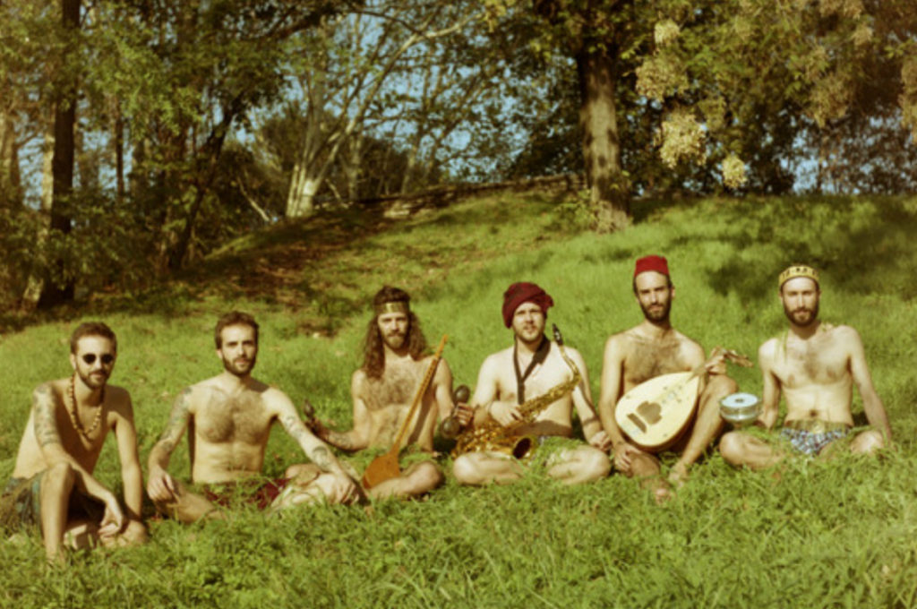Al Doum & The Faryds en Radar Estudios