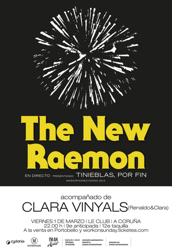 The New Raemon En Leclub Directo Son Estrella Galicia Toda La Música Indie Y Alternativa