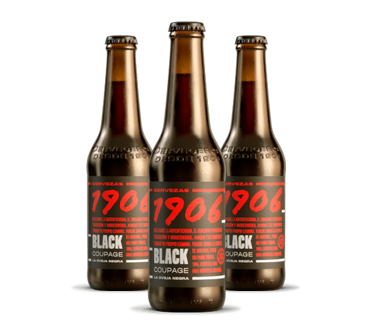 1906 Black Coupage Botella 33cl