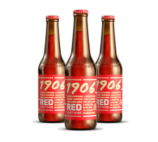 1906 Red Vintage Botella 33cl