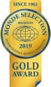 Monde Selection Gold Quality Award 2019 2