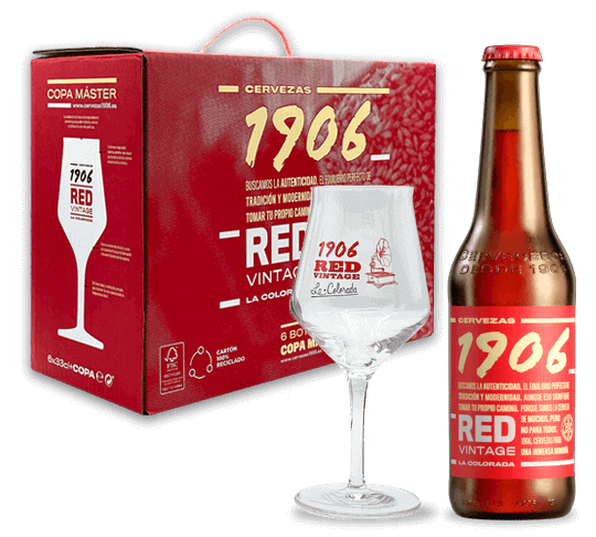 Pack 1906 Redvintage Copa Botella