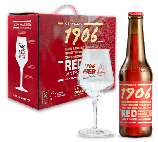Pack Redvintage Copa Botella